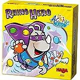 HABA 303411 – Rhino Hero,Active Kids 骰子游戏