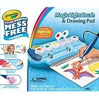 Crayola Color Wonder 魔法光刷和绘画垫,无脏乱涂色,适合 3 岁、4 岁、5 岁儿童