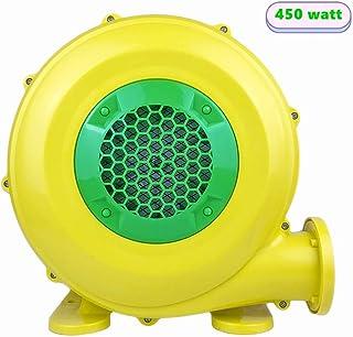充气鼓风机 450 瓦 弹力房屋鼓风机 适用于充气城堡和跳台的空气鼓风机 便携式强大充气鼓风机
