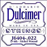 D'Addario J6404 镍缠绕器单弦,.022