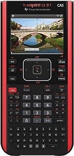 Texas Instruments 德州仪器 TI-Nspire CX II-T CAS 图形计算器(+ TI-Nspire CX CAS 教学软件),红/黑色
