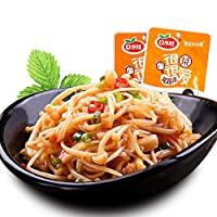 口水娃 香辣金针菇300g袋 独立小包装 零食小吃 下饭菜