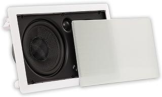Theater Solutions TSSLCR6 豪华 6.5 英寸壁式 250 瓦紧凑型中心通道扬声器家庭