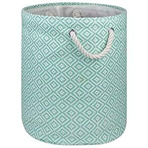 DII 超大尺寸编织纸质存储篮或箱子,折叠方便的家庭组织解决方案,适用于办公室、卧室、橱柜、玩具、洗衣室
