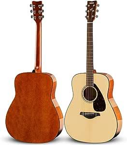YAMAHA 雅马哈 FG800 单板民谣木吉他 41英寸 亮光原木色 送加厚琴包等玩琴大礼包