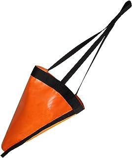 MOOPHOEXII 24/32/42/53-英寸 漂移船锚 Drogue,高能见度橙色海制动器适用于海洋船/游艇/喷气式滑雪/动力船/帆船