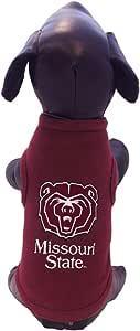NCAA Missouri State Cotton Lycra Dog Tank Top, Small