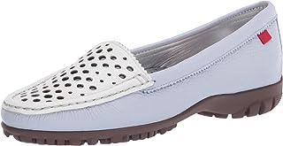 MARC JOSEPH NEW YORK 女士皮革巴西制造豪华高尔夫鞋带垂直鞋面