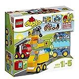 LEGO 乐高 DUPLO得宝系列我的第一组汽车与卡车套装 10816 1½-5岁 积木玩具 婴幼