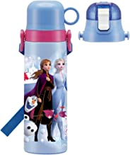 Skater 斯凯达 儿童用 2WAY 不锈钢 水壶 带杯子 冰雪奇缘 2 迪士尼 570毫升 SKDC6