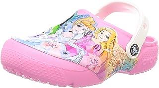 Crocs 迪士尼公主洞洞鞋|幼儿水鞋|女童一脚蹬凉鞋