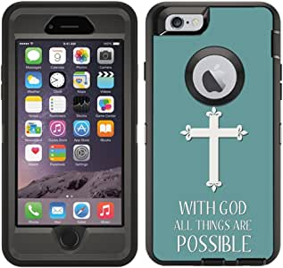 iPhone 6 / iPhone 6S 保护膜 White - Christian Cross Quote