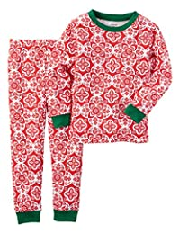 Carter ' s 女童2t-142件套猫睡衣套装