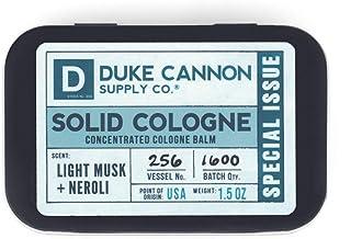Duke Cannon Solid Cologne 特别问题 - 轻质 Musk + Neroli
