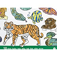 Melissa & Doug 特大彩色垫(30 x 36 厘米)– 动物,50 幅图片