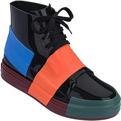 Melissa 女式船员运动鞋 棕色 黑色 9 M US
