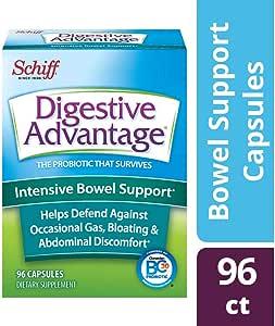 Schiff 希夫 Digestive Advantage 加强型肠部支持胶囊,96粒