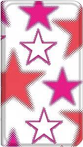 智能手机壳 手册式 对应全部机型 薄型印刷手册 cw-271top 套 手册 星星 极薄 轻量 UV印刷 壳WN-PR172720-MX Galaxy S6 edge SCV31 图案 A