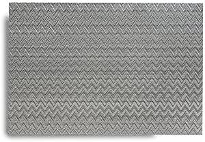 Harman Mendocino Vinyl Placemat, Grey