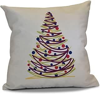 e 设计 JUMP 适用于 JOY OH 圣诞树印花户外枕头