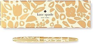 Kate Spade New York 凯特·丝蓓纽约女式金色圆点圆珠笔 金色花卉 187658