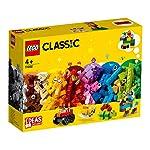 LEGO 乐高 拼插类玩具 经典系列 基础积木套装 11002 4+ 积木玩具