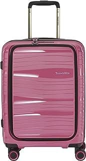 """Travelite 轻巧,坚固且可移动的卷轴旅行箱""""运动""""带硬壳,4 种颜色箱子套装 糖果 Koffer S Vortasche (43 cm)"""