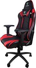 Letton 游戏椅赛车风格椅带高背 PU 皮革带头枕和腰部支撑 PC 电脑旋转椅和高档办公椅