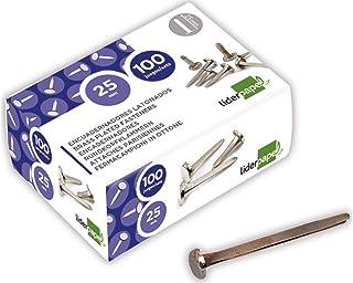 Liderpapel FS13 塑料装订书脊,25 毫米,100 件
