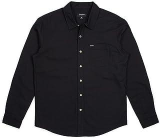 Brixton 男式宪章标准版型长袖牛津梭织衬衫