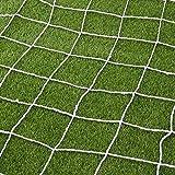 Aoneky 足球球门网 - 60.96 x 243.84 厘米 - 全尺寸橄榄球球球门柱网 - 不包括杆