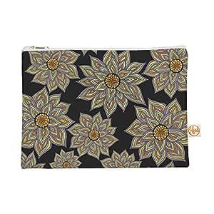 Kess InHouse Pom Graphic Design 出品的花朵舞蹈包扁平袋,21.59 x 15.24 厘米(PG1004AEP01)