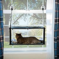 """K&H Manufacturing Kitty Sill Double Stack Ez Window Mount, 12 by 23"""""""