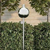 Pure Garden 50-219 户外手电筒灯 - 114.3 厘米庭院/后院不锈钢燃油罐火焰灯,适用于香茅,带玻璃灯芯,可调节高度