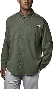 Columbia 男士 PFG Tamiami II 长袖钓鱼衬衫