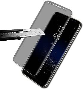 三星 Galaxy S8 Plus 屏幕保护膜,贴合钢化玻璃屏幕保护膜 9H 硬度[超清晰] [无泡沫] [无刮痕] 适用于三星 Galaxy S8 Plus itspeake-305