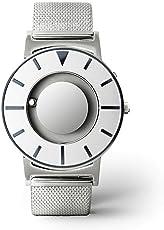 EONE 恒圆 美国品牌 典藏系列 石英男女适用手表 红点设计大奖 BR-SLV-BLUE(亚马逊自营商品, 由供应商配送)