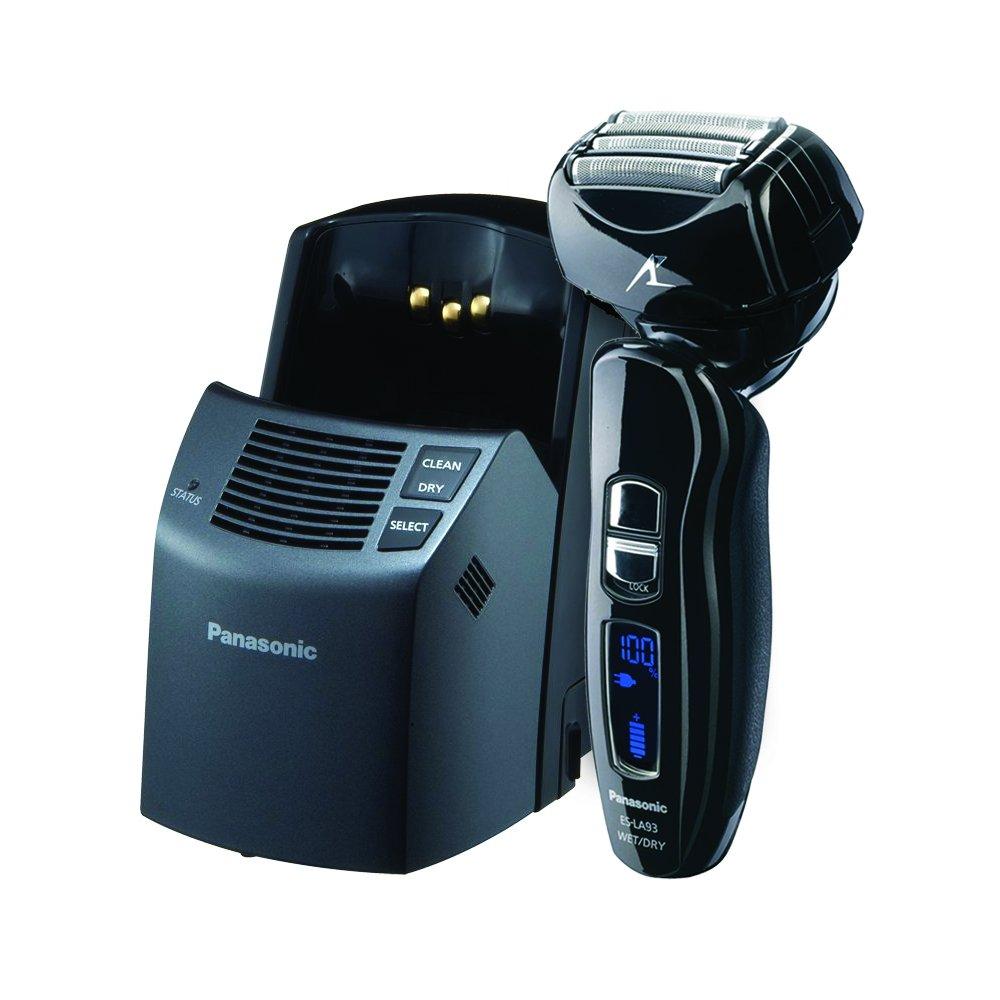 松下Panasonic ES-LA93-K 4刀头干湿两用电动剃须刀 (全身水洗+自动清洗系统)