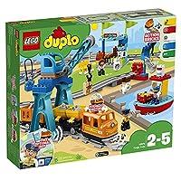 LEGO 乐高  拼插类 玩具  DUPLO 得宝系列 智能货运火车 10875(67块)2-5岁 婴幼