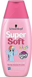 Schwarzkopf 施华蔻 超柔软女孩洗发水沐浴啫喱,250毫升装,5件装