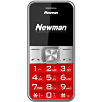 纽曼(Newman) V5 大字体大按键大声音老人手机支持收音机外放老人机 (红色)