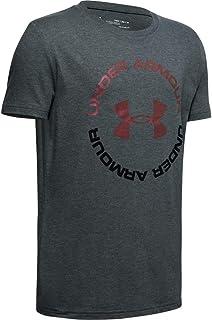 Under Armour 男孩运动风格短袖 T 恤