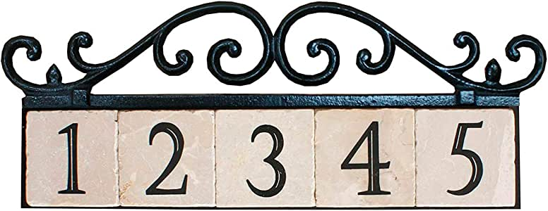 nach HOUSE 地址 / 数字标志牌匾 5