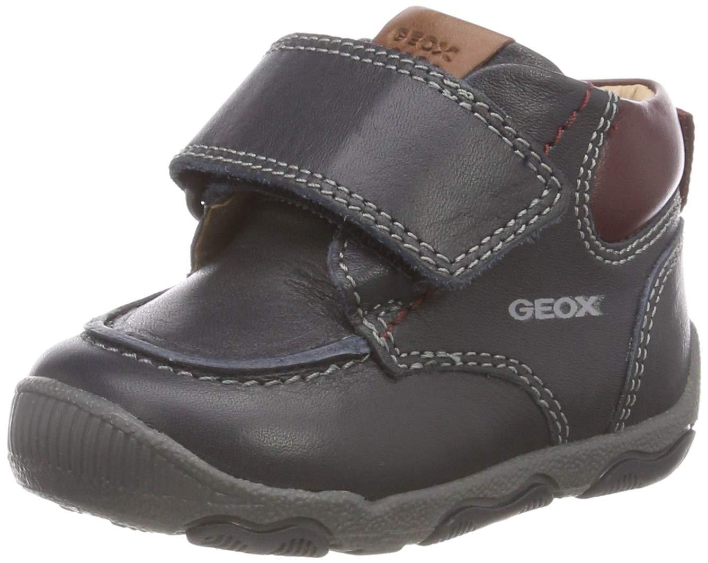 Geox 儿童 New Balu Boy 16 全皮冒险靴及踝靴