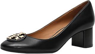 Tory Burch 女士 Claire 50 毫米高跟小牛皮完美黑色 006