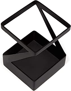 ArtsOnDesk 现代艺术钢笔和铅笔架 bk303 钢黑色甲板配件桌面笔盒托架 办公用具 圣诞节礼物 节日父亲 母亲情人节礼物