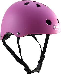 ProRider BMX 自行车 & 滑板头盔 - 3 种尺寸可选:儿童,青少年,成人 X-S 粉红色 BMX/Cycling/Skating