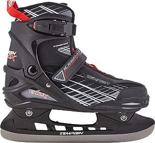 TEMPISH 男童冰球鞋 CROX-Sr. 39,黑色