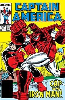 """Captain America (1968-1996) #341 (English Edition)"",作者:[Mark Gruenwald, Ron Frenz, Kieron Dwyer]"