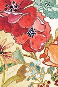 Toland Home Garden Watercolor Bouquet 28 x 40 Inch Decorative Artistic Flower Design House Flag